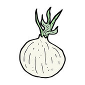 Cartoon onion — Vetorial Stock