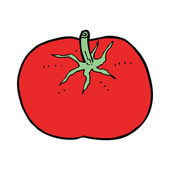Cartoon tomato — Vetorial Stock