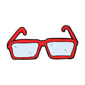 Cartoon spectacles — Stockvector