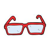 Cartoon glasögon — Stockvektor
