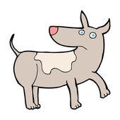 Funny cartoon dog — Stock Vector