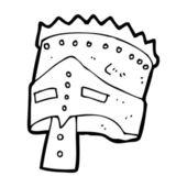 Cartoon king's armor — Stockvektor