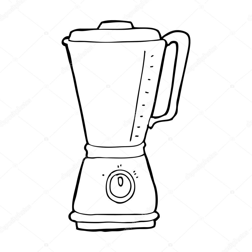 Dibujo de Una Batidora Batidora de Cocina de Dibujos