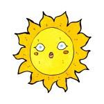 Cartoon sun — Stock Vector #39439493