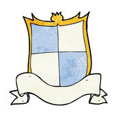 Heraldry cartoon — Vecteur