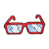 Cartoon glasses — Stock Vector