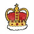 Cartoon royal crown — Stock Vector #39445333