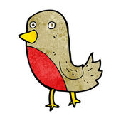Cartoon robin — Stock Vector