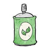 Cartoon natural spray — Stock Vector
