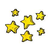 Cartoon stars — Stock Vector