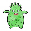 Cartoon funny slime monster — Stock Vector #39453739