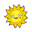 Cartoon happy sun — Stock Vector #39456229