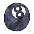 Cartoon eight ball — Vector de stock #39458367