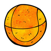 Cartoon basketball — Vettoriale Stock
