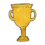 Trofeo di cartone animato — Vettoriale Stock
