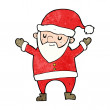 Cartoon dancing santa — Stock Vector #39464829