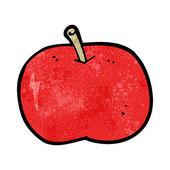 Cartoon shiny apple — Vetorial Stock