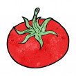 Vector de stock : Cartoon tomato