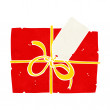 Cartoon wrapped present — Vettoriale Stock #41142103