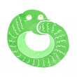 Vector de stock : Cartoon snake eating own tail