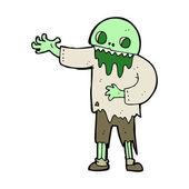 Cartoon spooky zombie — Stockvector