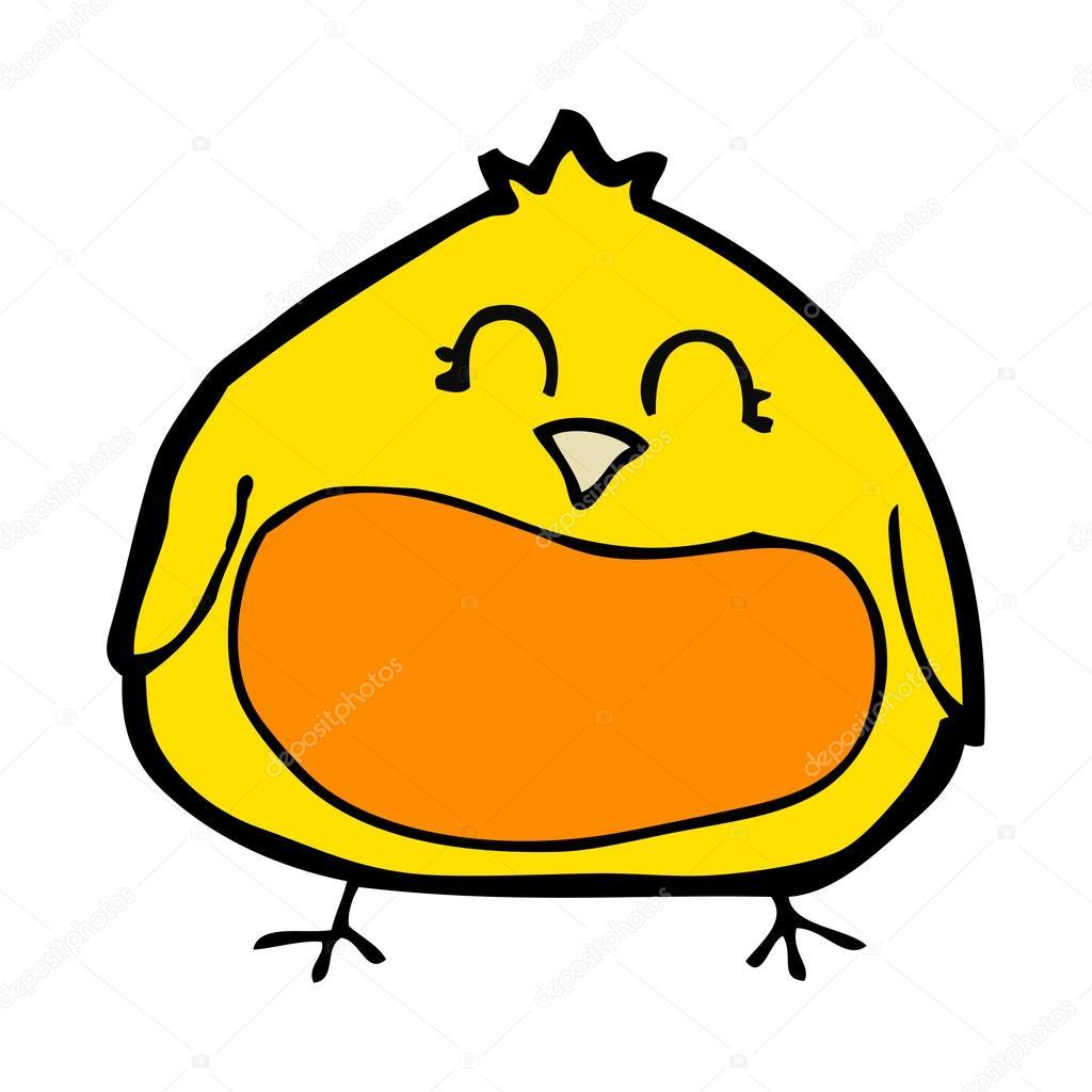 卡通胖鸟 — 图库矢量图像08