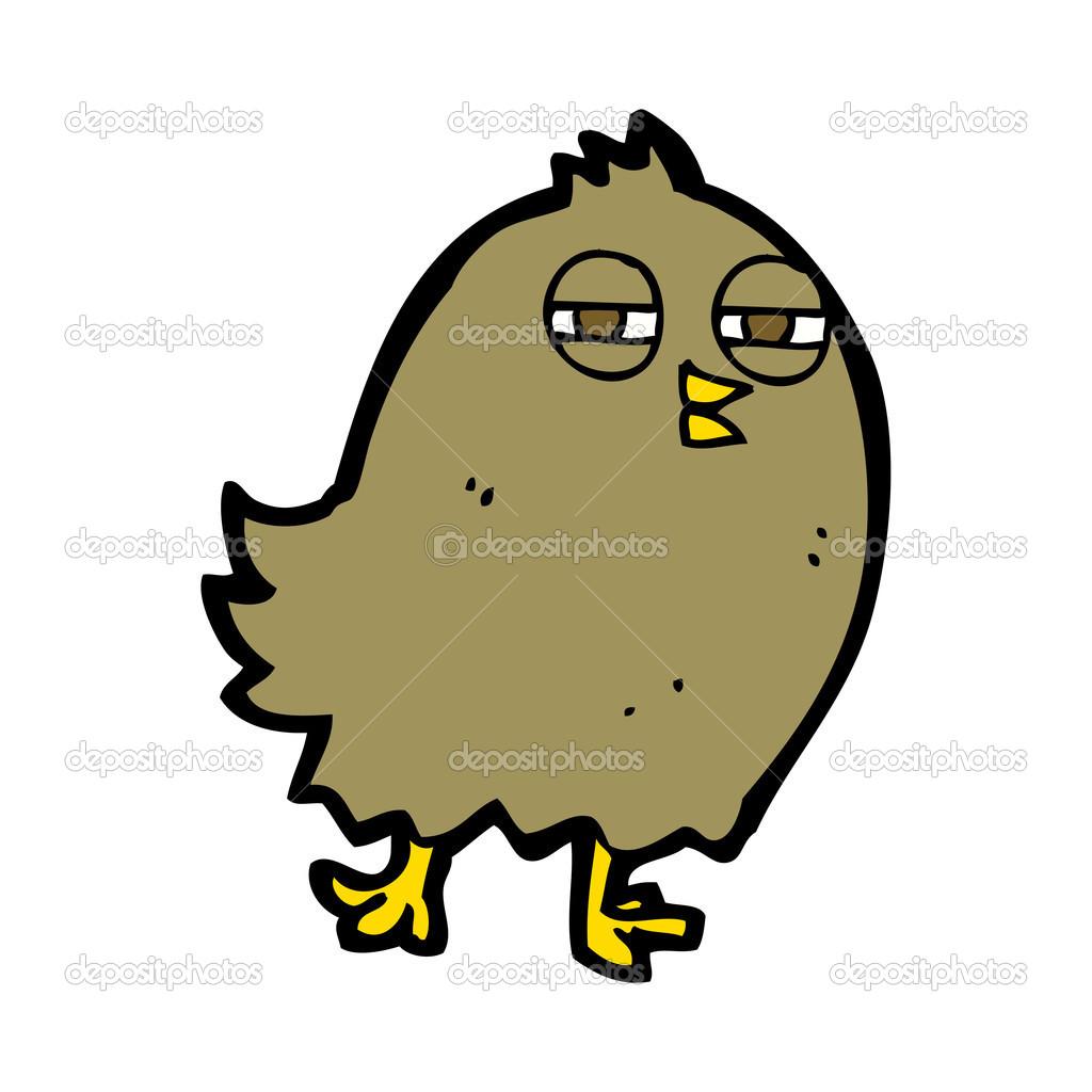 可爱的卡通鸟 — 图库矢量图像08