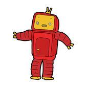 Cartoon robot — Stock Vector