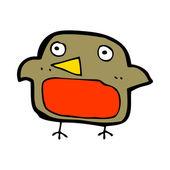 Cartoon robin — Stockvector