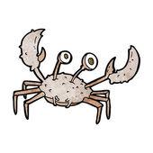 卡通螃蟹 — 图库矢量图片