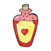 Cartoon love potion — Stock Vector
