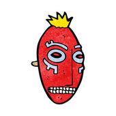 漫画部族マスク — ストックベクタ