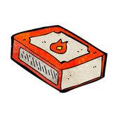 Cartoon pack of matches — Stok Vektör