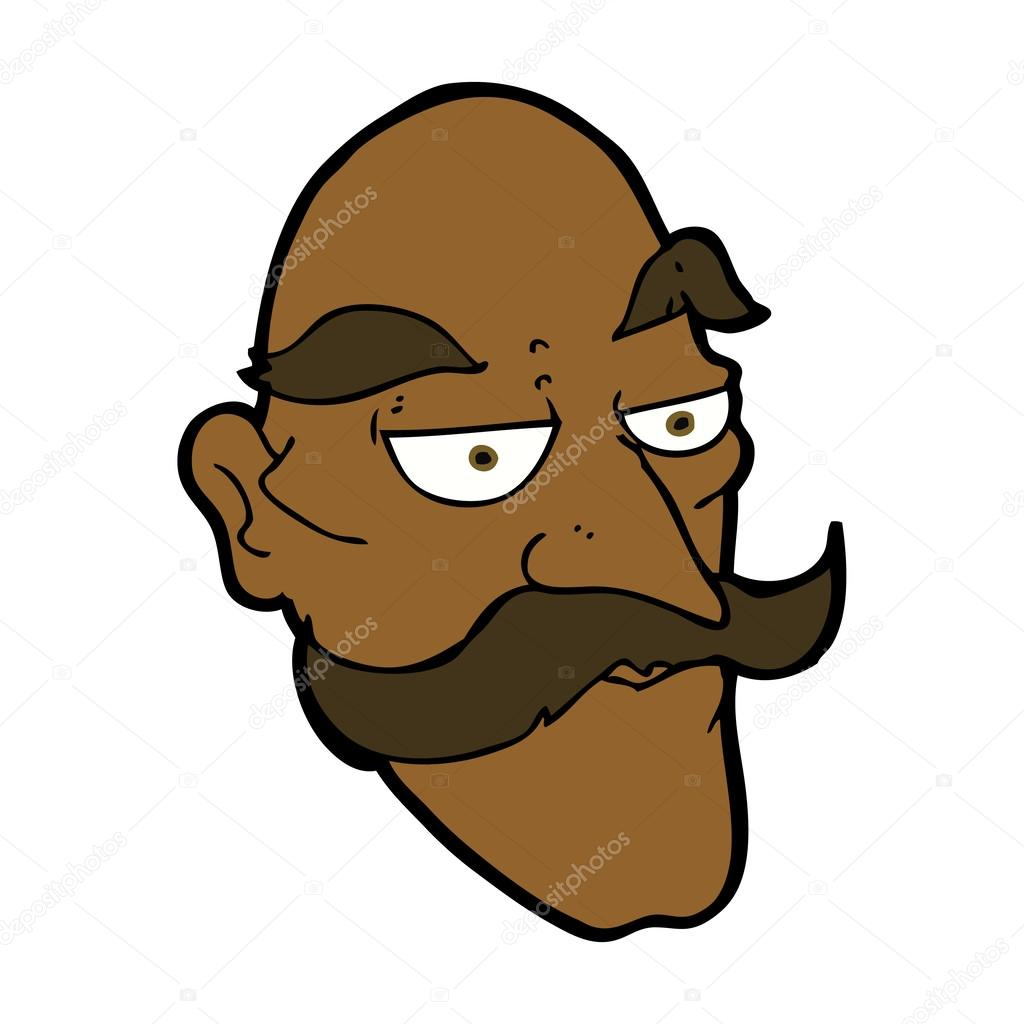 Old Man Face Cartoon Cartoon Old Man Face Vector