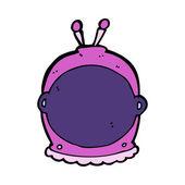 Cartoon space helmet — Stock Vector