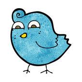 Cartoon funny bird — Stock Vector