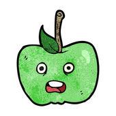 Apple dos desenhos animados — Vetorial Stock