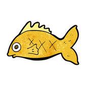 Cartoon fish — Stock Vector
