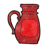 Cartoon jug — Stock Vector