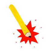 Ołówek rysunkowy — Wektor stockowy