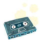 Cartoon-kassette — Stockvektor