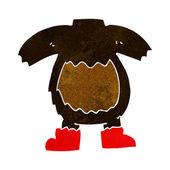 Kreskówka niedźwiedź czarny ciała (wymieszać i dopasować lub dodaj własne zdjęcia) — Wektor stockowy