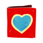 Cartoon love heart card — Stock Vector #48413129