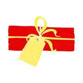 Dibujos animados de regalo de navidad — Vector de stock