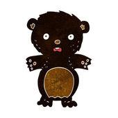 Испугался медведь мультфильм — Cтоковый вектор