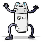 Cartoon robot — Stock Vector