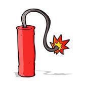 Cartoon dynamite — Stock Vector