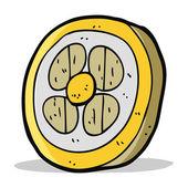 Cartoon medieval shield — Stock Vector