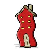 Casa del fumetto — Vettoriale Stock