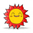 Cartoon happy sun — Stock Vector #49562471
